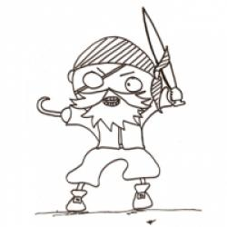 Coloriages de pirates