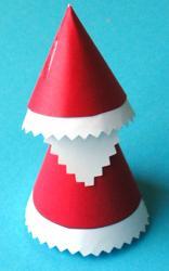 Père Noël en papier