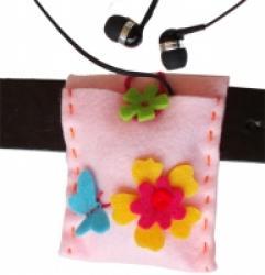 Pochette MP3, une activité de couture