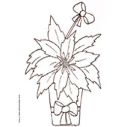 Coloriage d'une plante