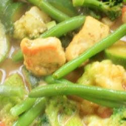 Cabillaud en cassolette de legumes