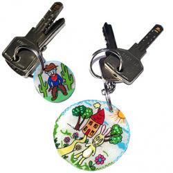 Petit porte-clés pour la rentrée scolaire