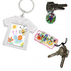 Porte-clés DIY enfant
