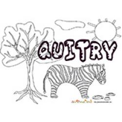 Quitry, coloriages Quitry