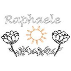 Raphaele, coloriages Raphaele