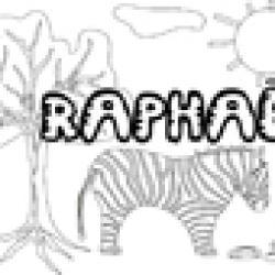 Raphael, coloriages Raphael