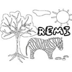 Remi, coloriages Remi