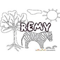 Remy, coloriages Remy