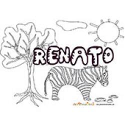 Renato, coloriages Renato