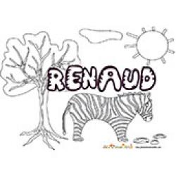 Renaud, coloriages Renaud