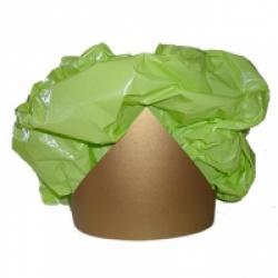 Diadème à collerette en sac plastique
