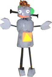 Robot en bouchon de liège