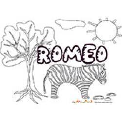 Romeo, coloriages Romeo