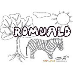 Romuald, coloriages Romuald