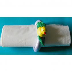 rond serviette en pâte à sel