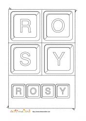 rosy keystone