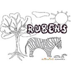 Rubens, coloriages Rubens