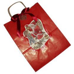 Décoration d'un sac é cadeau de Noël