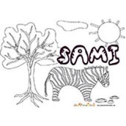 Sami, coloriages Sami