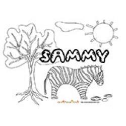 Sammy, coloriages Sammy