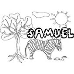 Samuel, coloriages Samuel