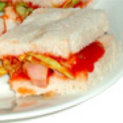 mini sandwichs au poulet