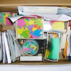 boite à trésor scrapbooking