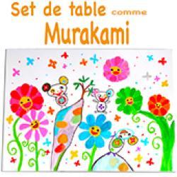 et de table à la manière de Murakami