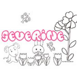 Severine, coloriages Severine