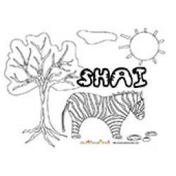 Shai, coloriages Shai