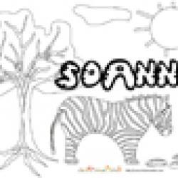 Soann, coloriages Soann