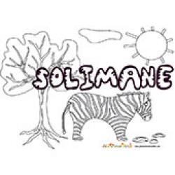 Solimane, coloriages Solimane