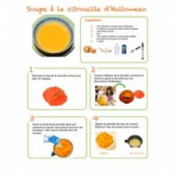 Recette de la soupe à la citrouille d'Halloween