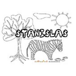 Stanislas, coloriages Stanislas