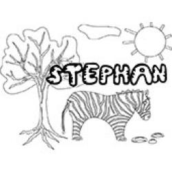 Stephan, coloriages Stephan