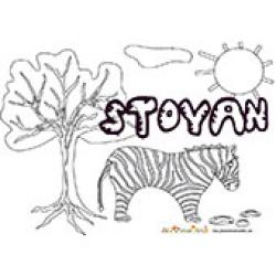 Stoyan, coloriages Stoyan