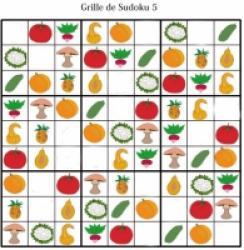 Sudoku enfant du primaire