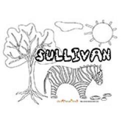 Sullivan, coloriages Sullivan