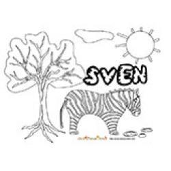 Sven, coloriages Sven