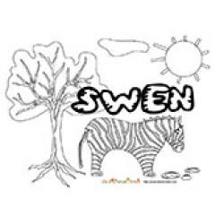 Swen, coloriages Swen
