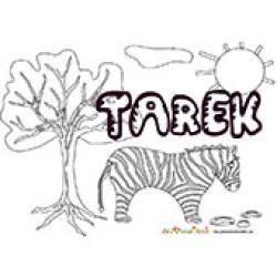 Tarek, coloriages Tarek