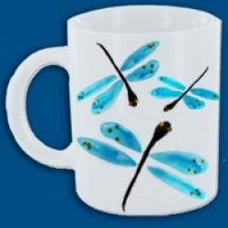 Mug petites libellules