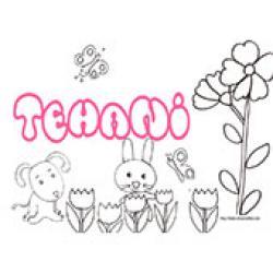 Tehani, coloriages Tehani