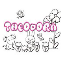 Theodora, coloriages Theodora