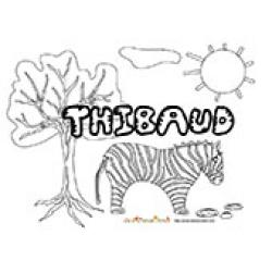 Thibaud, coloriages Thibaud