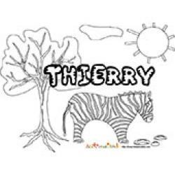 Thierry, coloriages Thierry