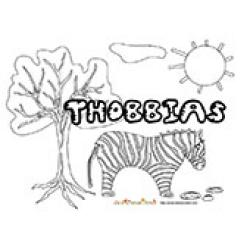 Thobbias, coloriages Thobbias