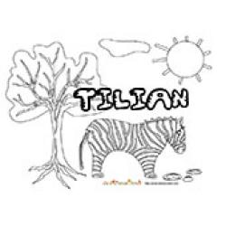 Tilian, coloriages Tilian