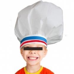 Cupcinu-Toque de chef r/églable avec /élastique pour enfants Adults Adulte