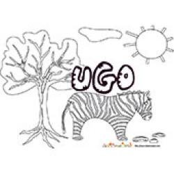 Ugo, coloriages Ugo
